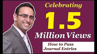 How to Make Journal Entries (Video-1) (Basic Rules of Passing Journal Entries)