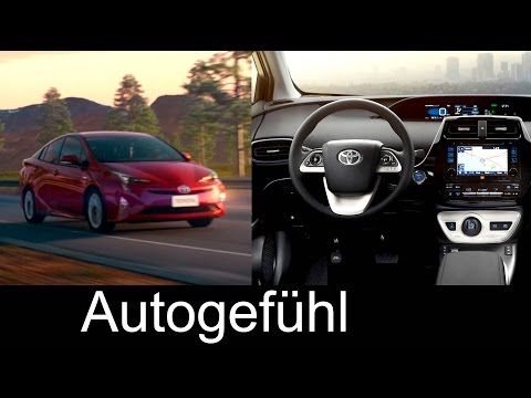 2016 new Toyota Prius preview Exterior/Interior first Trailer & shots  - Autogefühl