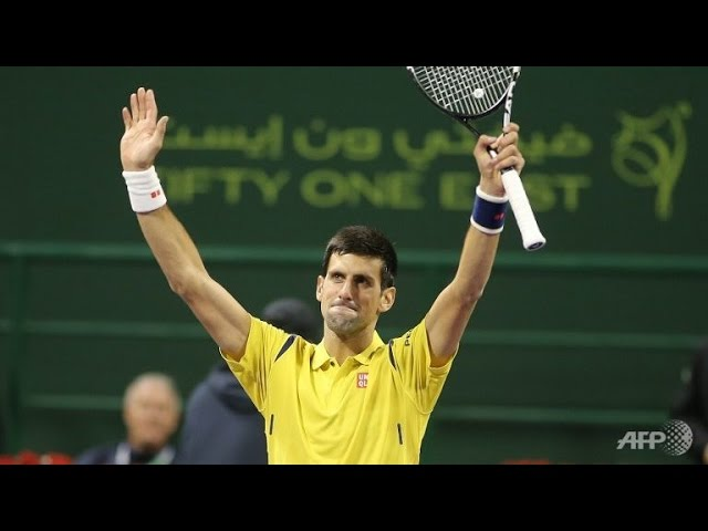the best of Novak Djokovic