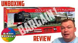 Bargain Second Hand - Hornby R1177 Gloucester City Pullman Train Set - Review And Unboxing 20/12/19