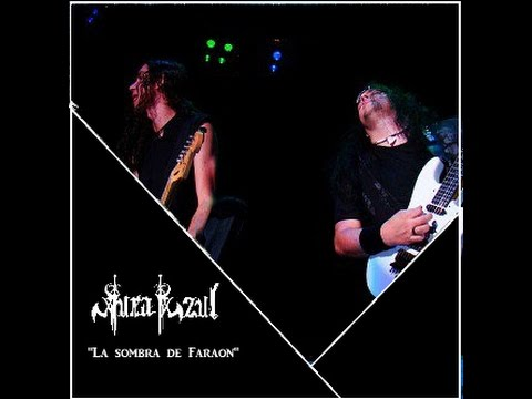 AURA AZUL-La sombra de Faraon (Iron Maiden's Final Frontier world tour)
