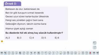 Eğitim Vadisi TYT Türkçe 14.Föy İsimler - 2 Konu Anlatım Videoları