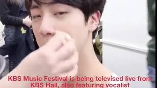 ENG SUB 영문자막 英译 황치열 黄致列 Hwang Chi Yeul BTS Singing A Daily Song^^ 방탄소년단과 매일듣는노래 ❤️ 석진^^