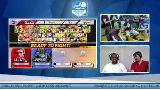SFW #55: Aqua (Luigi) vs E-Serpent (Ganon)