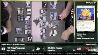 2015 Magic World Championship Round 1 (Draft): Mike Sigrist vs. Yuuya Watanabe