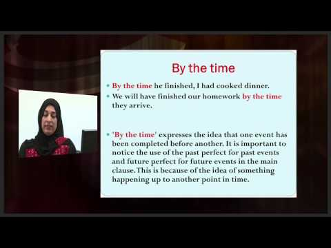 Adverbial Time Clauses - Grammar - اللغة الانجليزية - الصف الحادى عشر