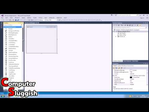Visual Basic 2013 Tutorial For Beginners Part #1 – Basic Form Control (HELLO)