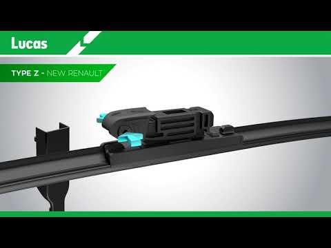 Lucas AIRFLEX LWDF Z Blade Fitting Video