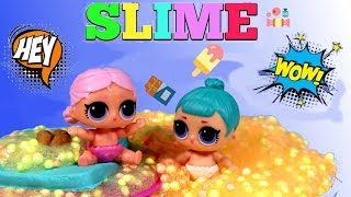 Play Doh • LOL Surprise • Deser Crunchy • Slime • bajki dla dzieci