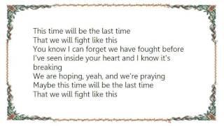 INXS - This Time DVD Lyrics