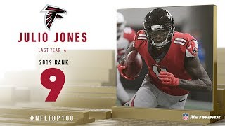 #9: Julio Jones (WR, Falcons) | Top 100 Players of 2019 | NFL