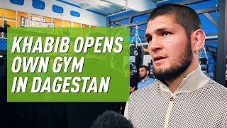 'A dream come true': Khabib & his father open own MMA gym