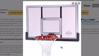 73729 Backboard And Rim Review
