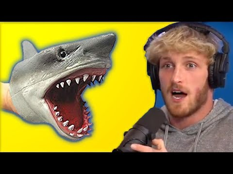 Logan Paul Reacts To Shark Puppet Face Reveal In New Video