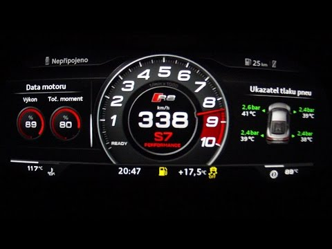 Audi R8 V10 Plus 2016 - acceleration 0-338 km/h, top speed test and more