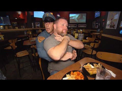 Off-Duty Trooper Saves Man Choking at Restaurant With Heimlich Maneuver