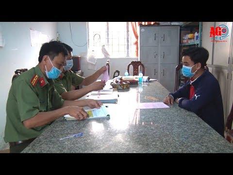 Thêm vụ thông tin sai sự thật về dịch bệnh Covid  19 ở Tri Tôn bị xử lý hành chính