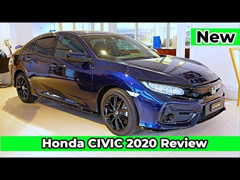 New Honda CIVIC Comfort Sport Line 2020 Review Interior Exterior