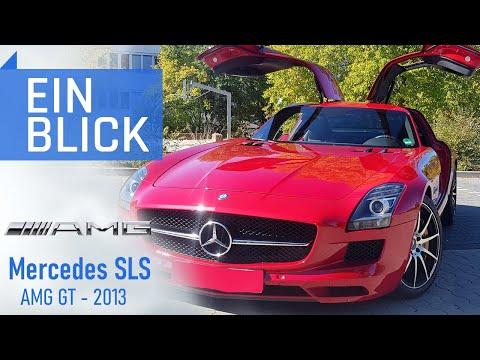 Mercedes SLS AMG GT 2013 - Ist der Flügeltürer zurecht schon eine Legende? Vorstellung und Test