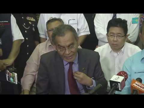 Sidang Media Berkaitan Pencemaran Udara Di Pasir Gudang