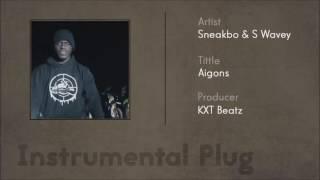 Sneakbo x S Wavey - Aigons (Instrumental)
