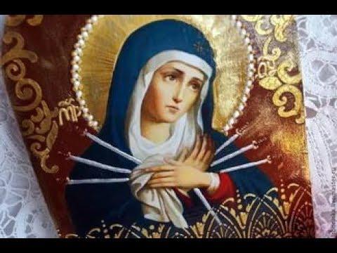Икона  Божьей Матери Умягчение злых сердец. Значение иконы и в чём помогает.