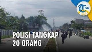 Timika Papua Mulai Kondusif, Polres Mimika Amankan 20 Orang Diduga Pemicu Aksi Anarkis