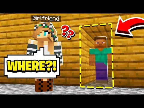 We built a SECRET BASE in our HOUSE!! (Minecraft)