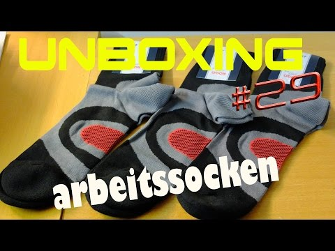 UnBoXinG 🎁 #29 Cool-Max Sportsocken Gr.47-48 (German)