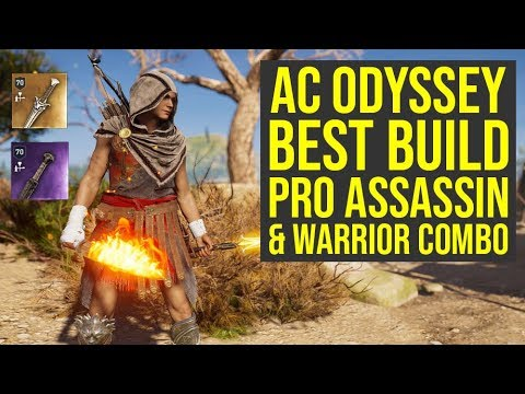 Assassin's Creed Odyssey Best Build AMAZING Assassin & Warrior Combo (AC Odyssey Best Build)