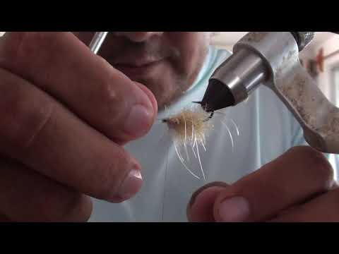 Fly Tying instructional video for Acocote Sea Louse