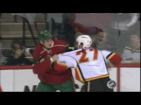 Derek Boogaard vs. Andre Roy