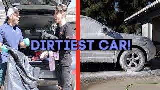 FIRST TIME CLEANING CAR IN 6 YEARS!!