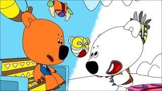 Раскраска - Ми-ми-мишки - Бессоница - 10 серия -Учим цвета - развивающие мультики для детей