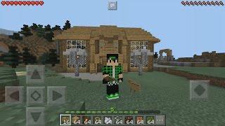 Лучший Механический дом в Minecraft PE 0.16.0/0.15.3