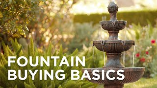 Guide and Cleaning Tips for Fountains