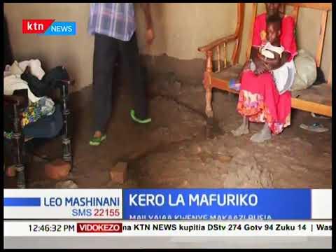 Maji yajaa kwenye makaazi katika Kaunti ya Busia