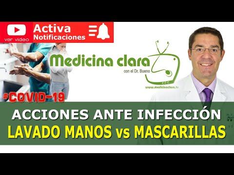 ¿Lavado de manos ó Mascarillas? COVID-19 | Medicina Clara - YouTube