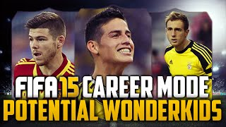 FIFA 15 Career Mode Potential Wonderkids! Ft. Alberto Moreno, James Rodriguez,& Jan Oblak!