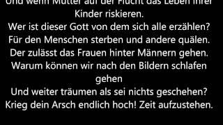 Sarah Connor -Augen auf (Lyrics) Zeichen für Toleranz!