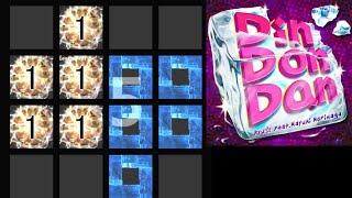 【jubeat festo】 Din Don Dan [EXT] 譜面確認(シャッター+ハンドクラップ+同時色分け)