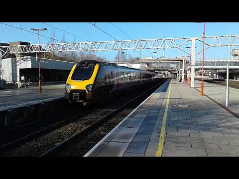 Trains at: Stafford, WCML, 26/01/18, Part 1/2