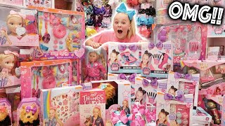 I CAN'T BELIEVE MY MOM DID THIS!! **HUGE JOJO MERCH SURPRISE** - Video Youtube