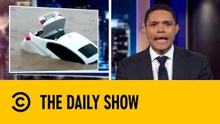 Birthday Boy Dumps His New BMW Into River | The Daily Show with Trevor Noah