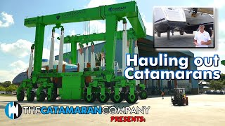 The Catamaran Company Presents | Importance of Haul Outs on a boat survey  (Lagoon 420 in St Pete)