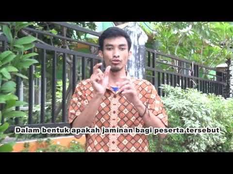 Vlog Rekrutmen BPJS Ketenagakerjaan 2019 untuk difabel Bahasa Isyarat Media Sosial