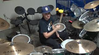 Out Of Sight, Out Of Mind by Anthrax (Drum Cover)
