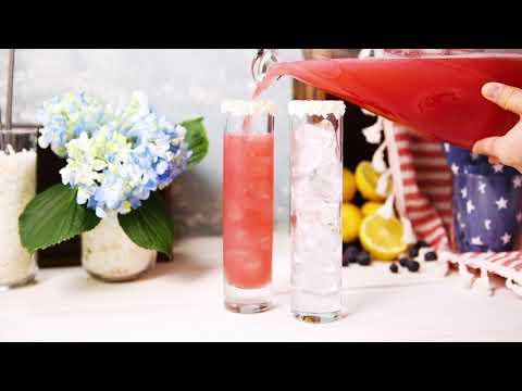 Red, White, and Blueberry Kombucha Cocktail Recipe| GT's Kombucha