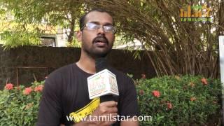 Director Ram Kumar at  Mundasupatti Movie Press Meet