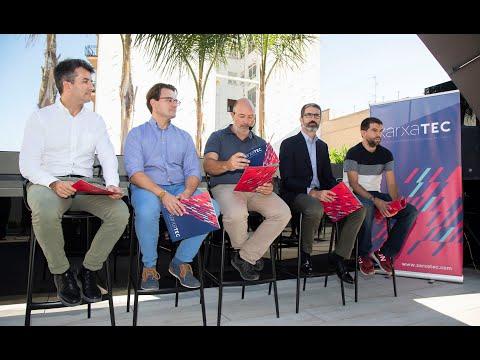 Rueda de prensa de presentación de #Xarxatec[;;;][;;;]